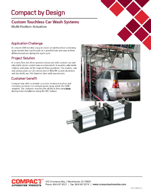 Custom Touchless Car Wash Systems