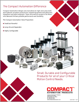 The Compact Automation Difference - Flyer